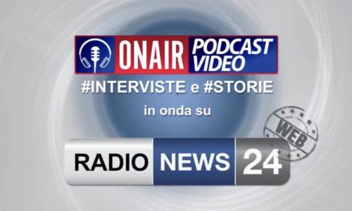 Intervista per  Radio News 24 On Air